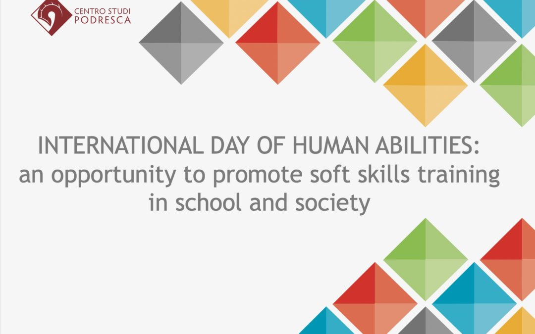PROPOSAL FOR THE ESTABLISHMENT OF THE INTERNATIONAL DAY OF HUMAN ABILITIES BY THE UNITED NATIONS